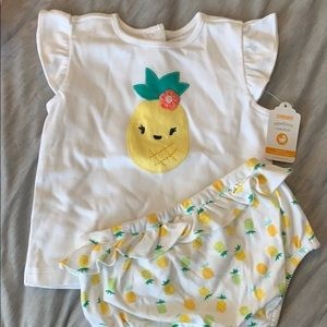 NWT Gymboree pineapple outfit
